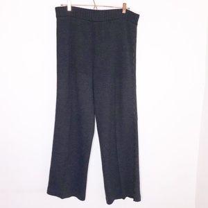 St. John Gray Santana Knit Pants